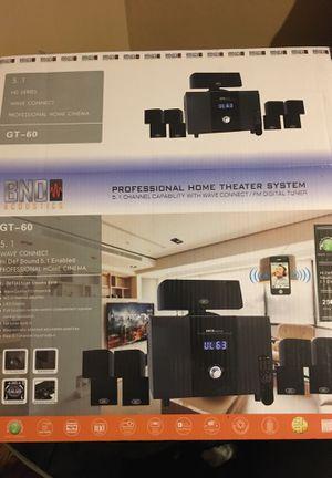 Bno acoustics model gt60 speakers Bluetooth for Sale in Halethorpe, MD