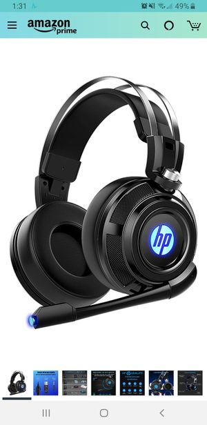 New in sealed box, HP Wired Stereo Gaming Headset with mic, for PS4, Xbox One, Nintendo Switch, PC, Mac, Laptop, Over Ear Headphones PS4 Headset Xbox for Sale in Tustin, CA