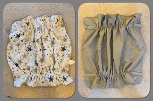 Soothtime Cruisetime Snuggler Weather Resistant Stroller Harness Blanket - gray/stars for Sale in Burnsville, MN