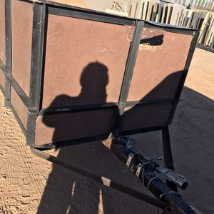 Trailer Utility 13.6 X 4 Ft Single Axe With Ramp for Sale in Glendale, AZ