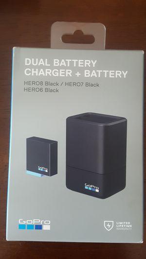 GoPro dual battery charger Plus Battery- Hero 8 black / Hero 7 black /Hero 6 black for Sale in Minneapolis, Minnesota