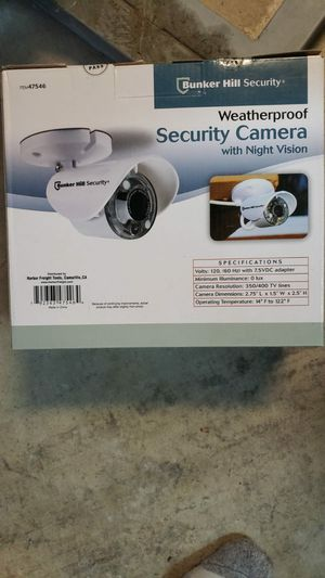 3 brand new never used security cameras for Sale in Redlands, CA