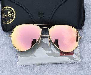 Pink Lenses Gold Lenses Unisex Sunglasses for Sale in Miami,  FL