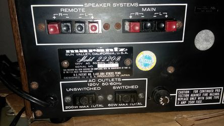 MARANTZ Steriophonic Receiver 2220 B. for Sale in San Leon,  TX