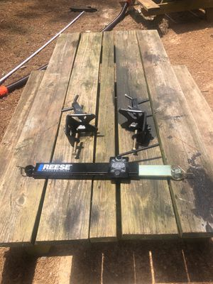 Reese professional sway control.. trailer clamps.. no bars or hitch just what is in photo. It came with camper I bought but I have my own for Sale in Marion, NC