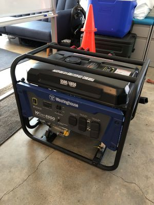 Westinghouse generator 5500 / 6850 peak watts for Sale in San Francisco, CA