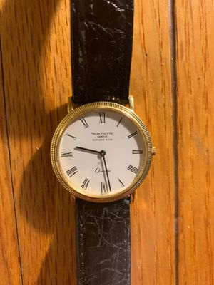 18K Patek Philippe Geneve & Tiffany Co Quartz watch for Sale in Los Angeles, CA