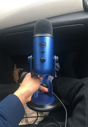 Blue USB Yeti Microphone for Sale in Alexandria, VA