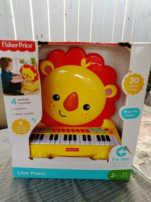 Lion piano brand new. In excellent condition for Sale in Alhambra, CA