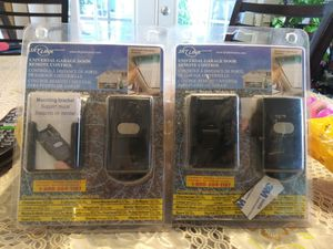2 universal garage door remote control for Sale in Oceanside, CA