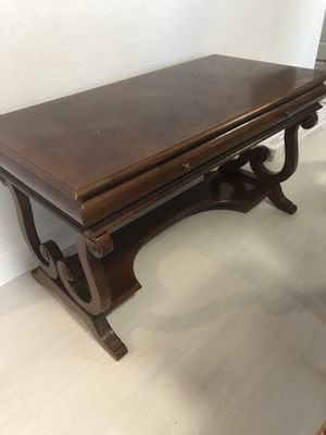 Solid wood desk 56 x 28 one drawer for Sale in Miami, FL