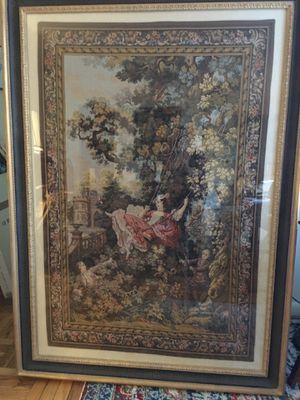 Large Framed Tapestry for Sale in Arlington, VA