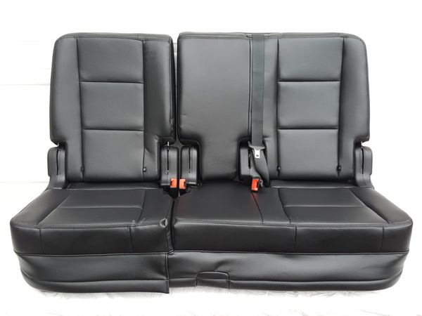 NEW Leather Ford OEM 60/40 Seats - TONS USES Deer Stands, Hot Rods MORE