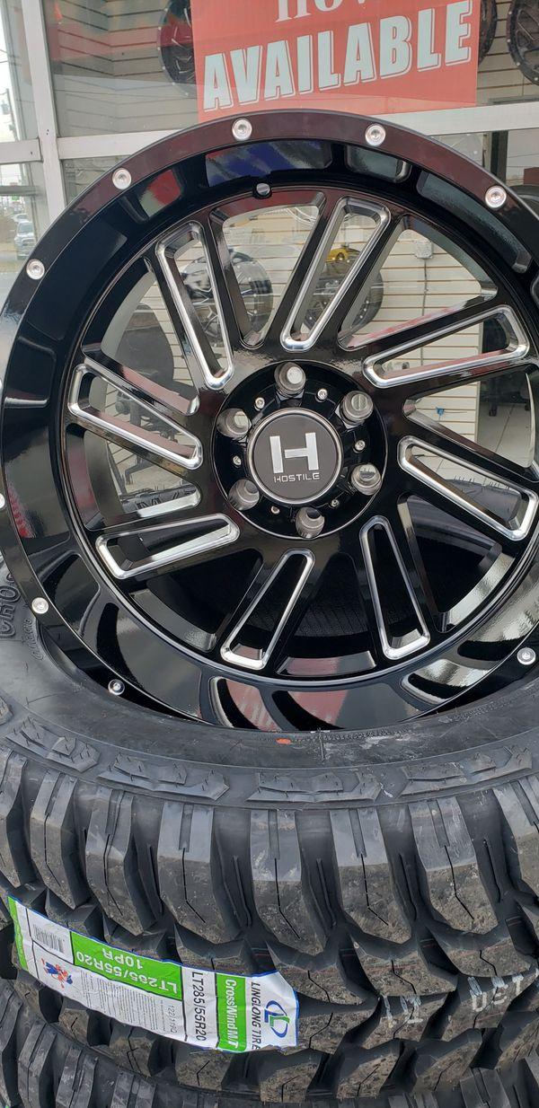 Hostile Stryker w. 33 in tires