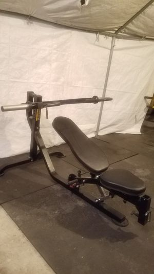 EXERCISE FITNESS NEW CONDITION POWERTEC MULTI BENCH PRESS for Sale in Long Beach, CA