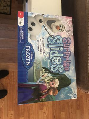 Surprise Slides Frozen Board Game for Sale in Cleveland, OH