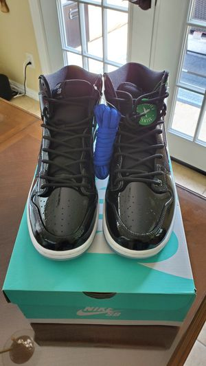"NIKE SB DUNK HIGH PRO ""Space Jam"" (BQ6826-002) Black Size US 10.5 ZOOM AIR for Sale in Grand Prairie, TX"