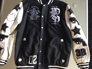 Letterman Crooks & Castle Jacket bape size XL for Sale in Dallas, TX