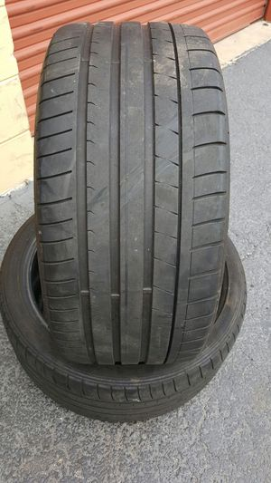 (2) 255/35/19 DUNLOP SP SPORT MAXX USED TIRES for Sale in Tampa, FL