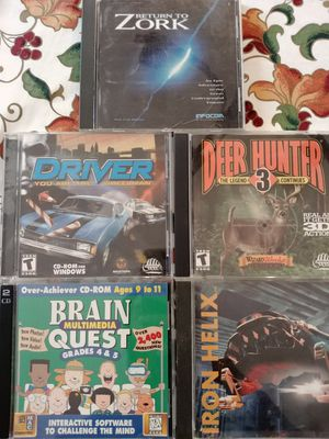 6 PC games for Sale in Bellevue, WA