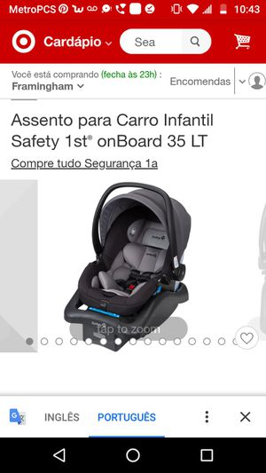 Safety car seat with 2 months of use for Sale in Milford, MA
