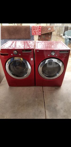 LG washer and electric dryer for Sale in Phoenix, AZ