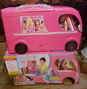 *Like New* Barbie Pop-up Camper. Orig price $150 + for Sale in Paterson, NJ