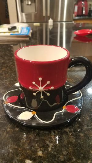 """""""NEW"""" SO CUTE Christmas Cheer Coffee Cup Set. for Sale in Arlington, TX"""