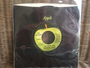 "The Beatles ""The Long And Winding Road"" 7"" Single for Sale in Menifee, CA"
