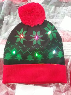 Holiday pattern light up beanie for Sale in Palmdale, CA