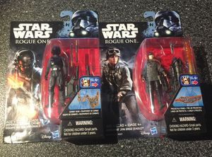 Rogue One A Star Wars Story 3.75 inch action figure collection for Sale in Queens, NY