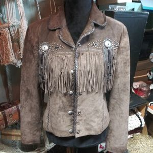 Scully womans fringed jacket for Sale in Sheridan, CO