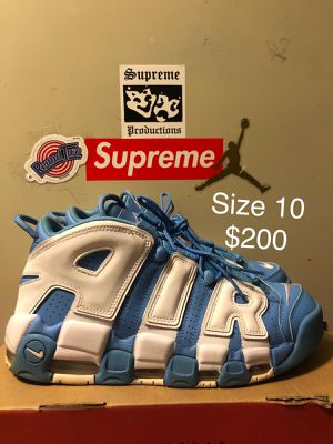 Uptempo University Blue, Size 10 $200 for Sale in Bladensburg, MD