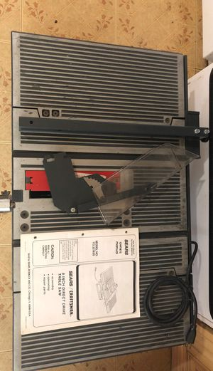 """Sears table saw18"""" for Sale in Georgetown, TX"""