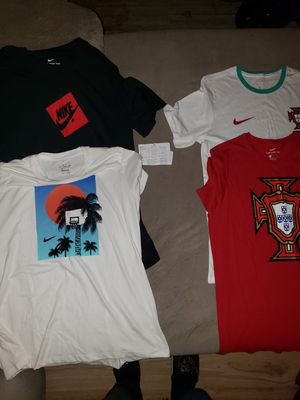 NIKE T-SHIRTS SZ MEDIUM-$35/ALL for Sale in Niles, OH