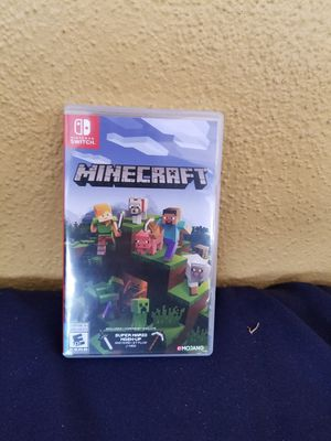 Nintendo switch minecraft game for Sale in Whittier, CA