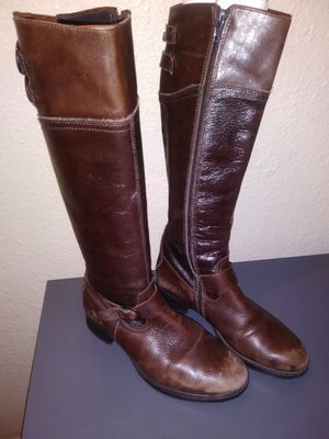 Aldo Brown boots size 5.5 - 6 $60 for Sale in Mesquite, TX