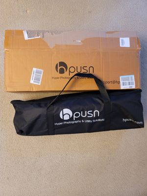 HPUSN SOFTBOX LIGHTING KIT for Sale in MONTGMRY, IL