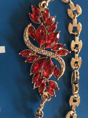 Red crystal Bracelet for Sale in Falls Church, VA