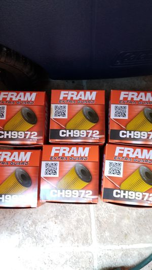 6 Brand new Fram Oil Filters CH9972 for Sale in Los Angeles, CA