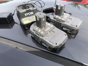 Ryobi batteries for Sale in Mesa, AZ