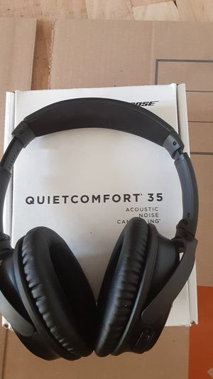 BOSE QUIETCOMFORT 35 acoustic noise cancelling for Sale in Arvada, CO