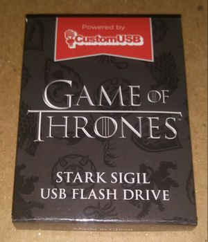 Game of Thrones Stark Sigil 4GB USB Flash Drive for Sale in Palm Springs, CA