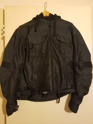 Street and steel motorcycle jacket for Sale in Selma, CA
