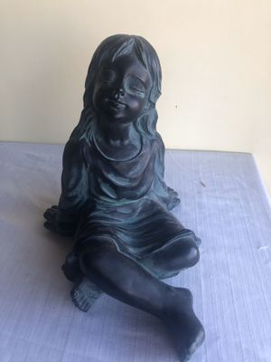 Little girl figure for indoors or outdoors for Sale in San Jose, CA