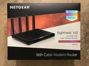 NETGEAR Nighthawk Cable Modem WiFi Router Combo for Sale in Henderson, NV