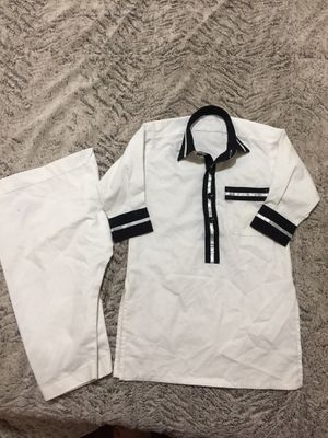 Pakistani Indian traditional Shalwar Kameez boys 2t outfit top bottom for Sale in Silver Spring, MD