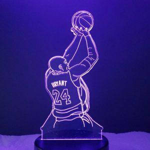 Kobe Bryant NBA Night Light Lamp for Sale in Evesham Township, NJ