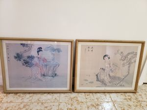 2 oriental Lady Pictures for Sale in Melbourne, FL