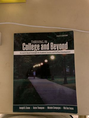 Thriving in College and Beyond book! for Sale in San Antonio, TX